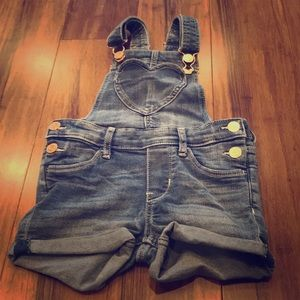 Heart overalls-3/4years size